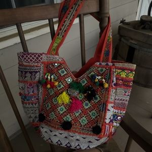 Artisan Boho Banjara Hippie Gypsy Patchwork Bag